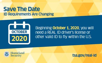 Do you fly in the U.S.? You might need REAL ID by October 1, 2020